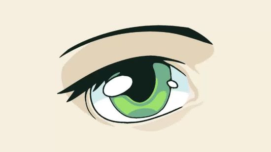 550x309 3 Ways To Draw Anime Eyes