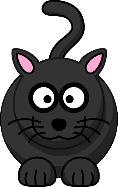 378x598 Black Cat Clip Art