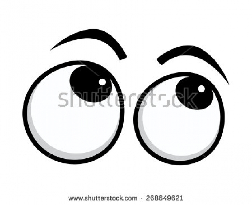 820x665 Eyes Looking Up Clipart Eyes Looking Up Clipart Rolling Eyes