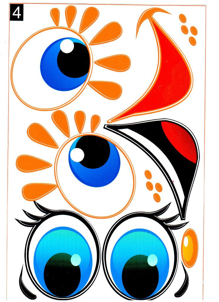 744x1024 Cartoon Cat Face Eyes Clip Art Royalty Free Stock Images