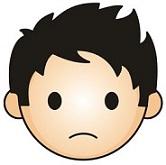 166x165 Free Sad Face Clipart