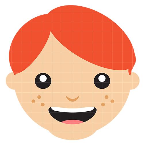 504x504 Boy Face Clip Art