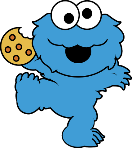 426x479 Cookie Monster Face Clipart Free Clip Art Images Baby