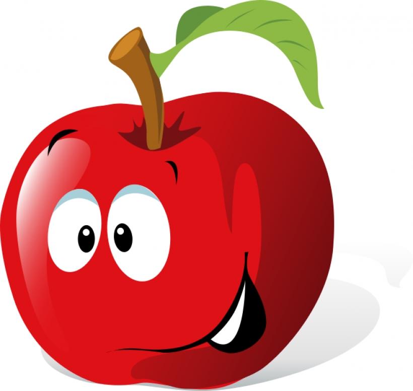 820x776 Face Clipart Fruit