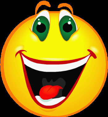 350x377 Free Clipart Happy Face