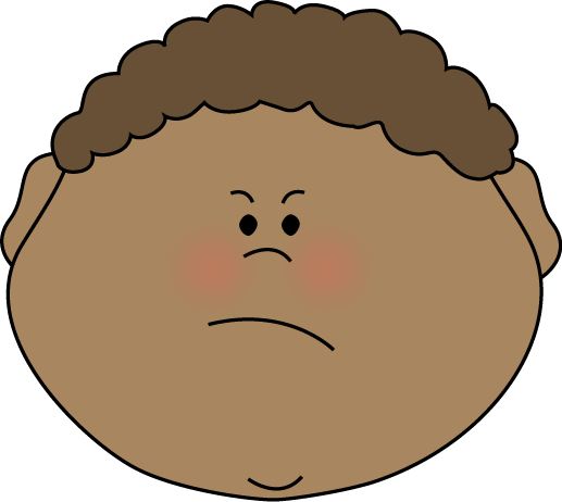 517x462 Angry Face Clipart