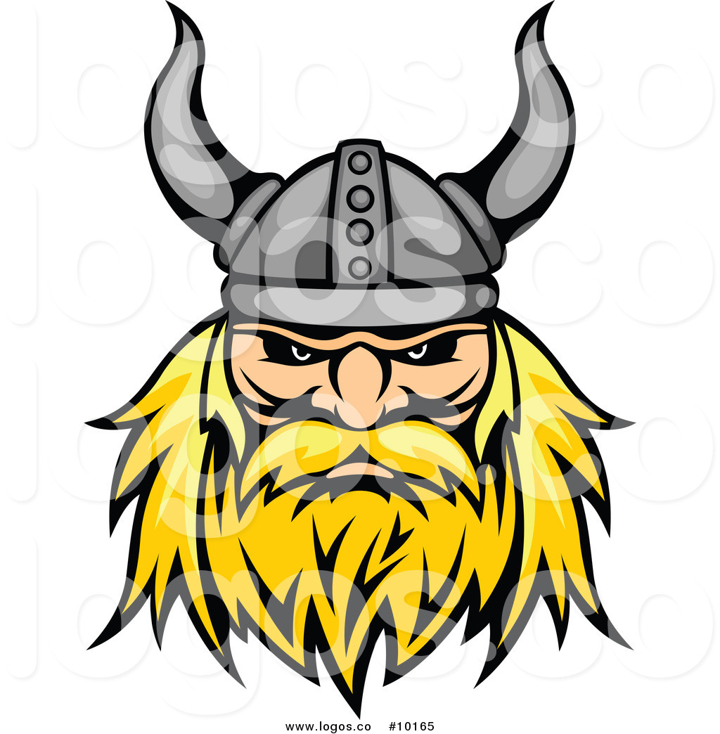 1024x1044 Royalty Free Clip Art Vector Aggressive Blond Viking Warrior Face