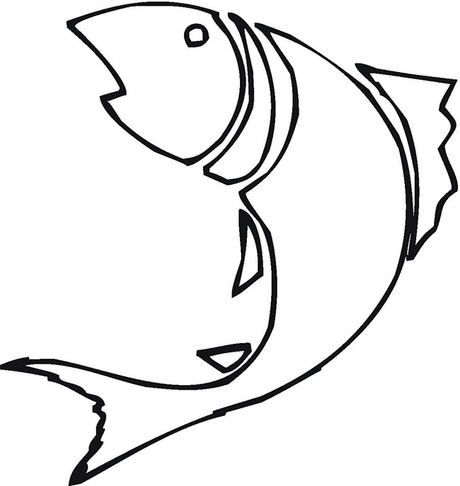 650x687 Fish Template Free Printable, Pdf Documents Download! Free