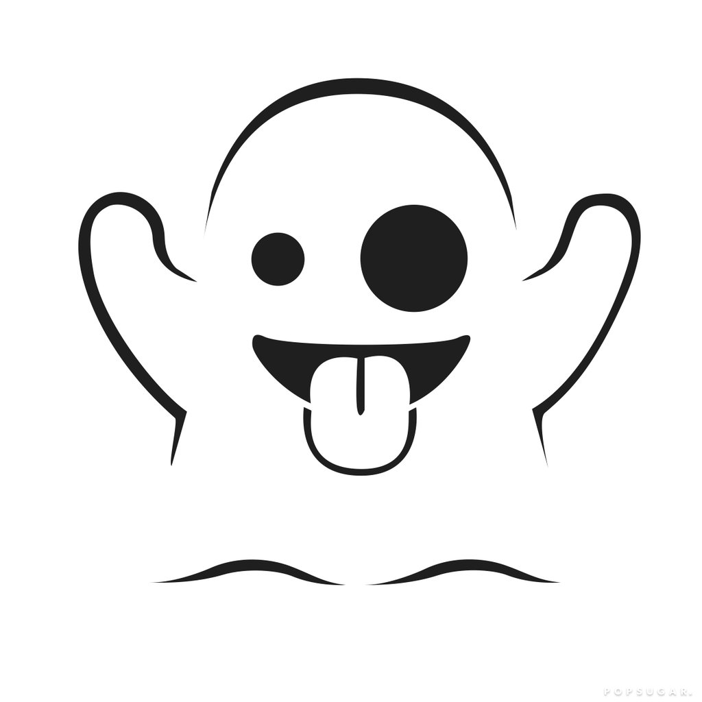 1024x1024 Ghost Free Emoji Pumpkin Templates Popsugar Tech Photo 6