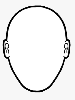 300x403 Best Photos Of Blank Head Outline