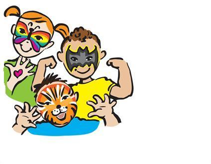 424x329 Face Painting Clipart Many Interesting Cliparts