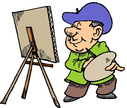 425x360 Painting Clipart Free