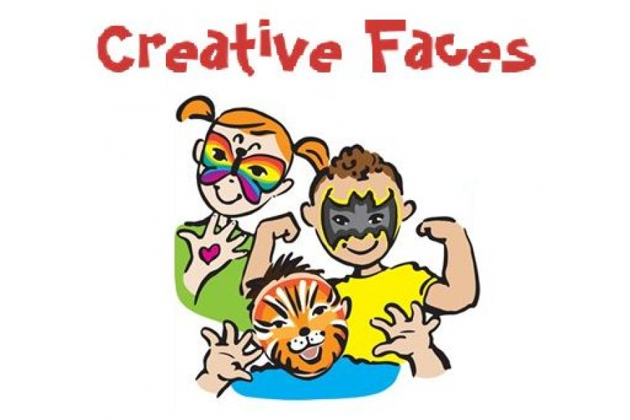 900x600 Face Painting Clip Art Cliparts