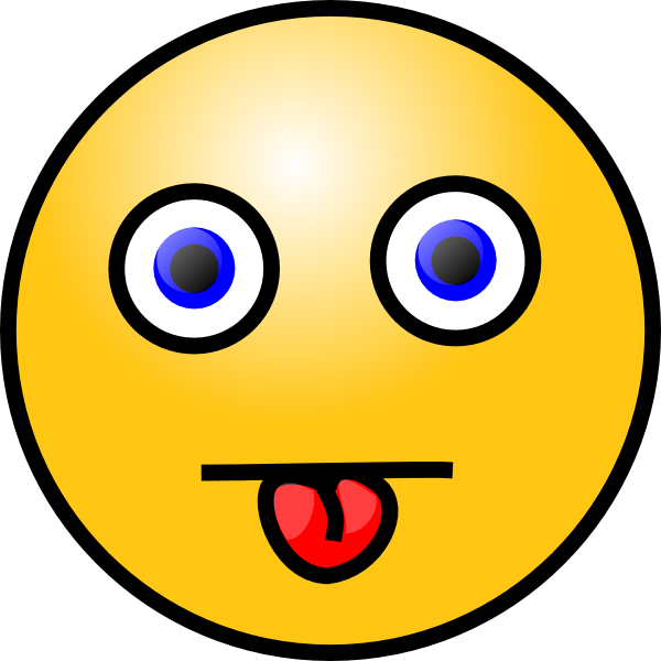 600x600 Smiley With Tongue Out Clip Art