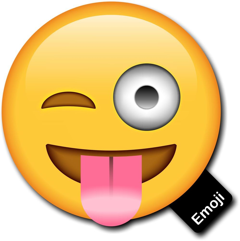 998x1000 Emoji Photo Prop Tongue Out And Cheeky Wink Photobooth Prop
