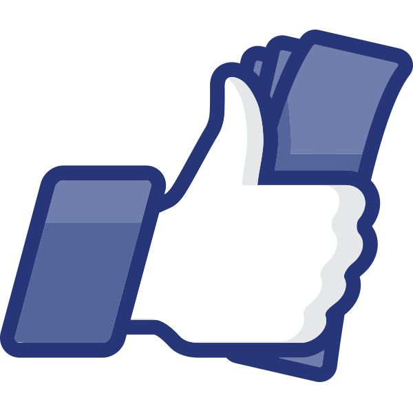 Facebook Thumbs Up Sign