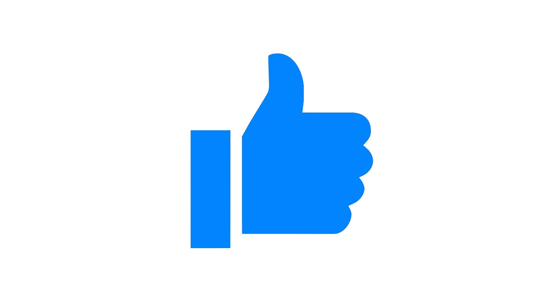 1920x1080 Facebook Messenger Thumb Up Animation Leave A Like For Youtube