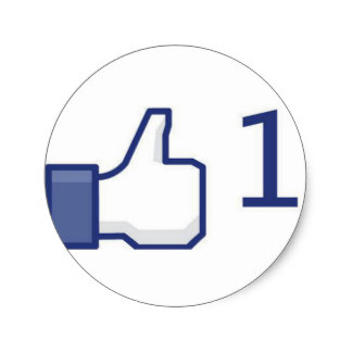 324x324 Facebook Thumbs Up Stickers Zazzle