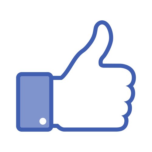 500x500 Facebook Thumbs Up Image Clipart