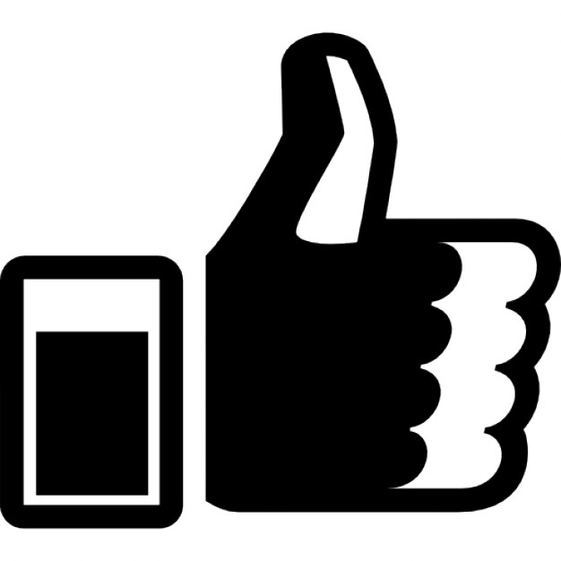 626x626 Thumb Up Symbol For Facebook Icons Free Download