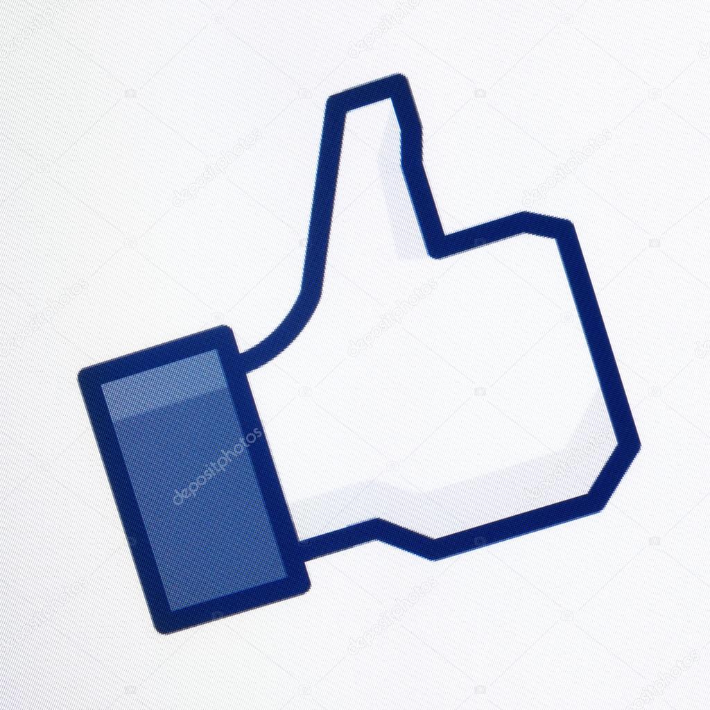 1024x1024 Thumbs Up Facebook Symbol Stock Editorial Photo Bloomua