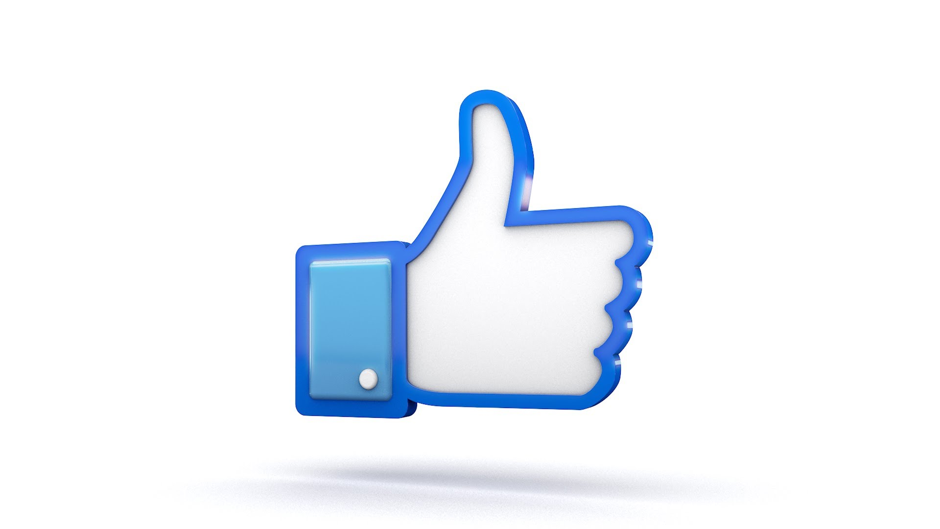 1920x1080 Facebook 3d Thumbs Up Like Icon