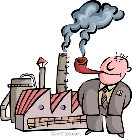 460x480 Factory Clipart Cartoon