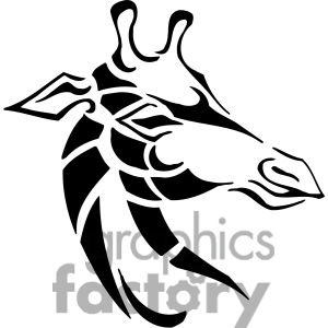 300x300 Giraffe Clip Art, Photos, Vector Clipart, Royalty Free Images