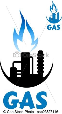 257x470 Natural Gas Clipart