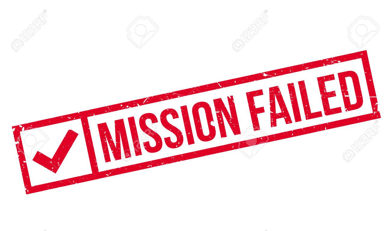 1300x769 Mission Failed Rubber Stamp Royalty Free Cliparts, Vectors,