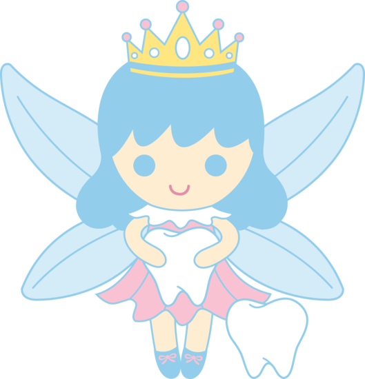 529x550 Cute Tooth Fairy Collecting Teeth Free Clip Art