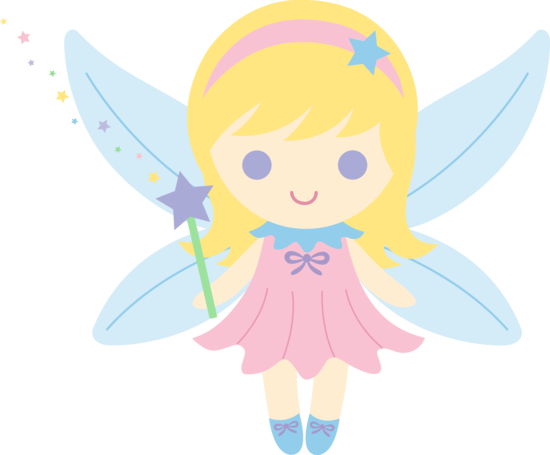 550x455 Little Fairy With Blonde Hair
