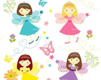 340x270 On Sale Girl Clipart Cute Fairy Clipart