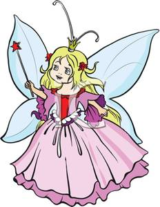 232x300 Art Image A Childlike Queen Fairy