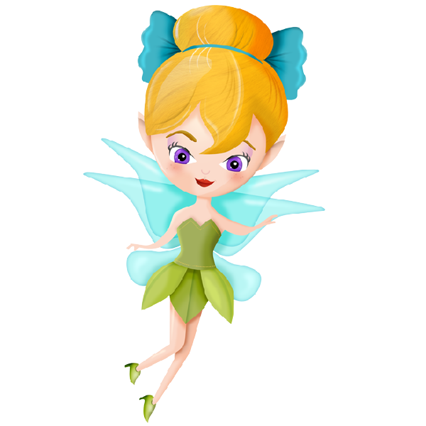 600x600 Cartoon Fairy Clipart