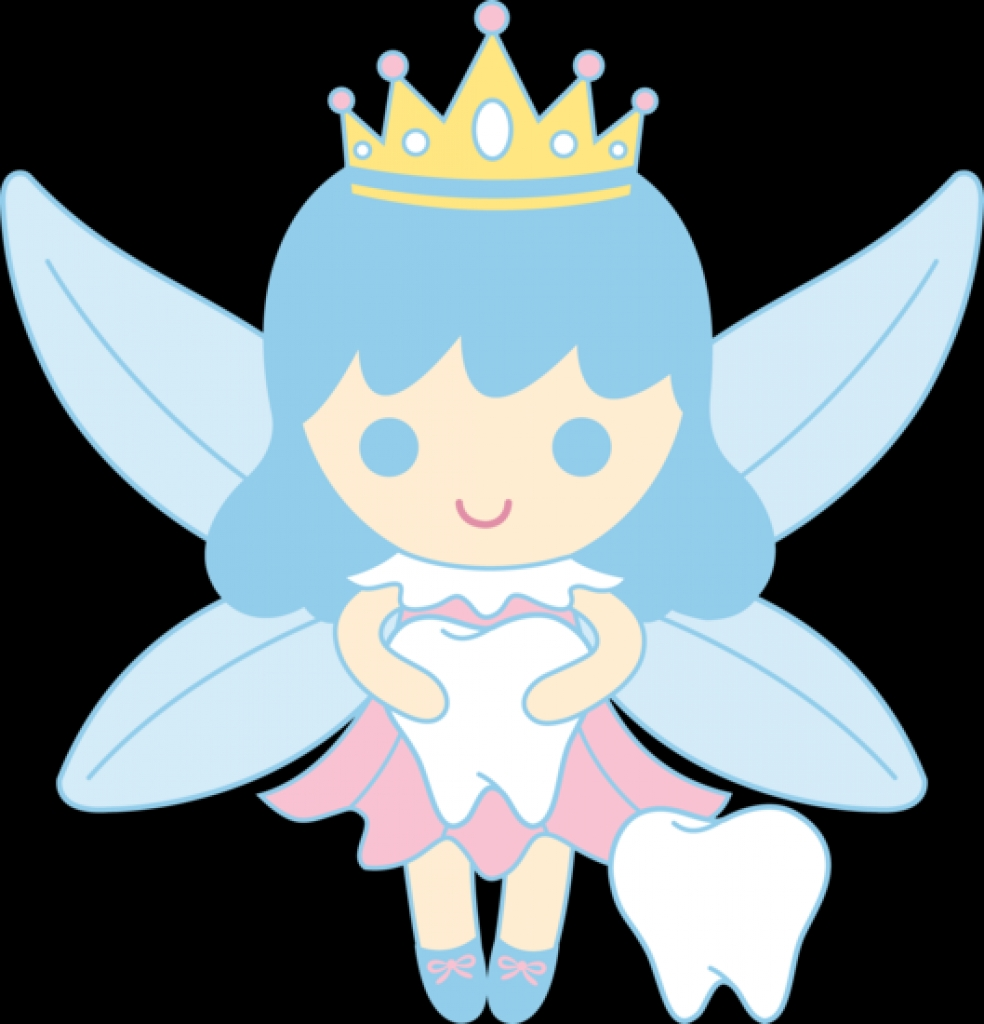 984x1024 Cute Tooth Fairy Collecting Teeth Free Clip Artfree To Share Png