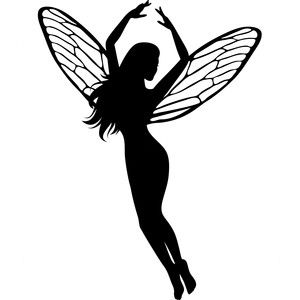 Fairy Silhouette Clipart