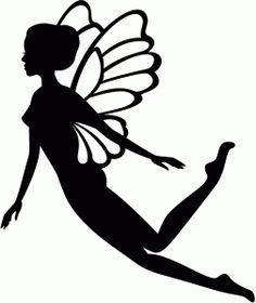 Fairy silhouette. Clipart free download best