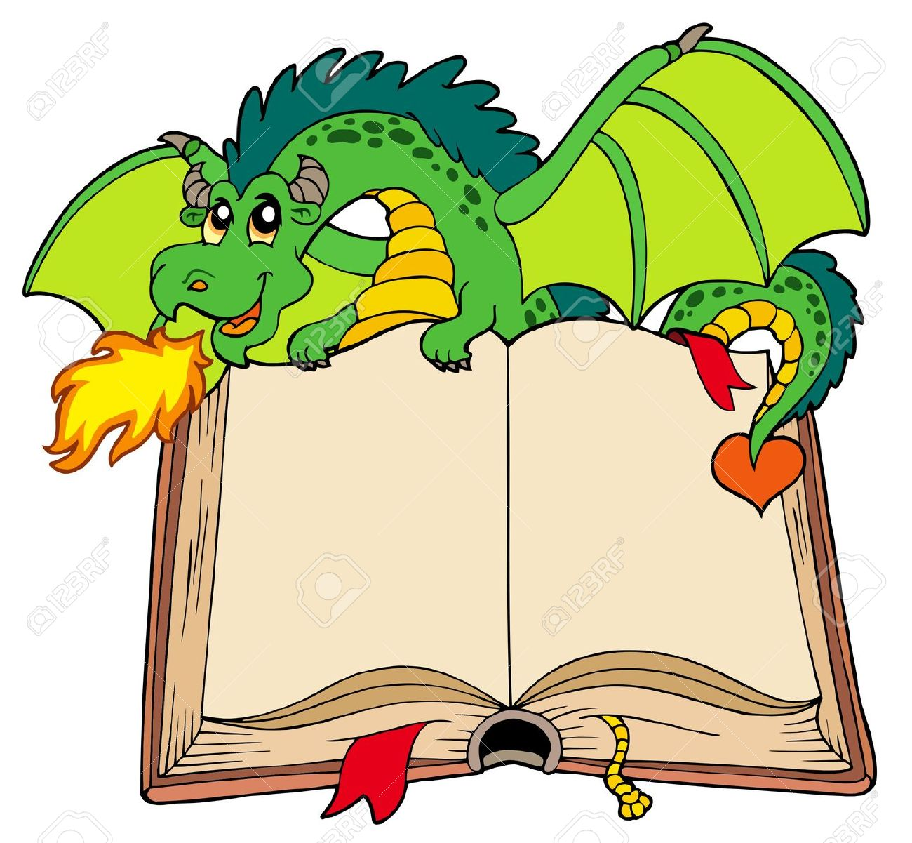 Fairy tail tale. Book clipart free download