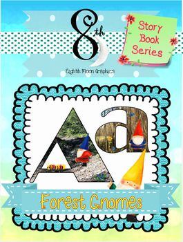 265x350 Forest Gnomes Abc Clip Art Clip Art, Gnomes And Lower Case Letters