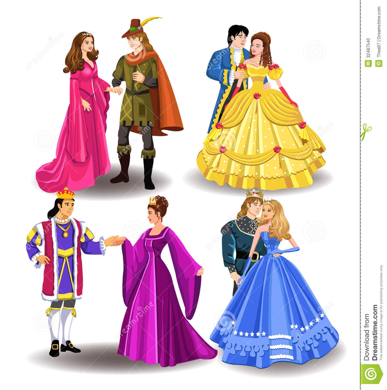 1290x1300 Fairy Tale Clipart Background