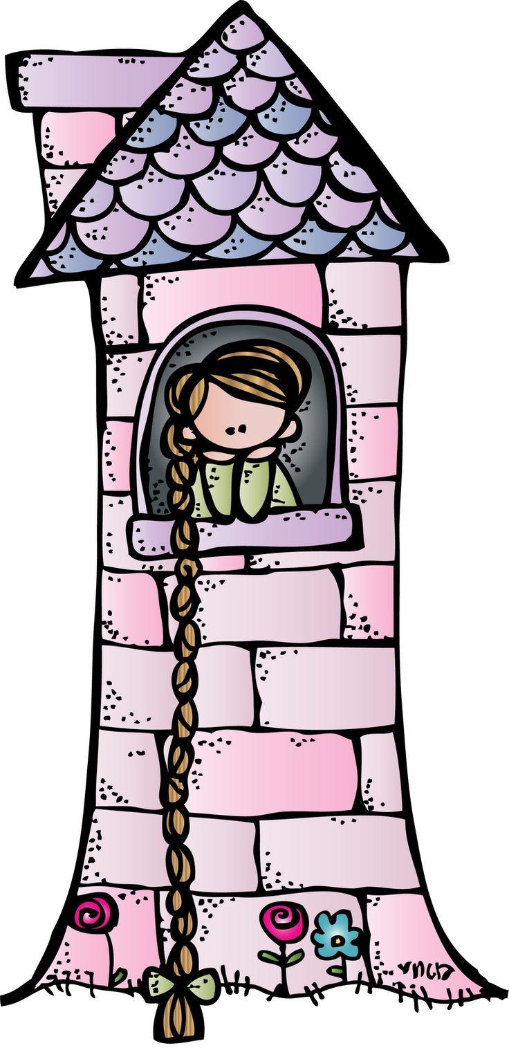 736x1515 Fairy Tale Clipart Rapunzel