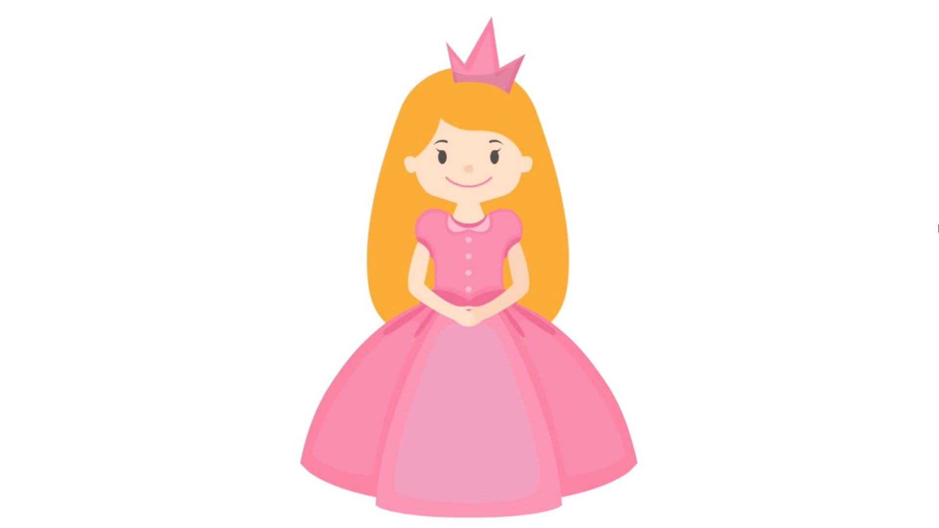 1920x1080 How To Draw Amp Color A Cute Fairy Tale Princess Step By Step