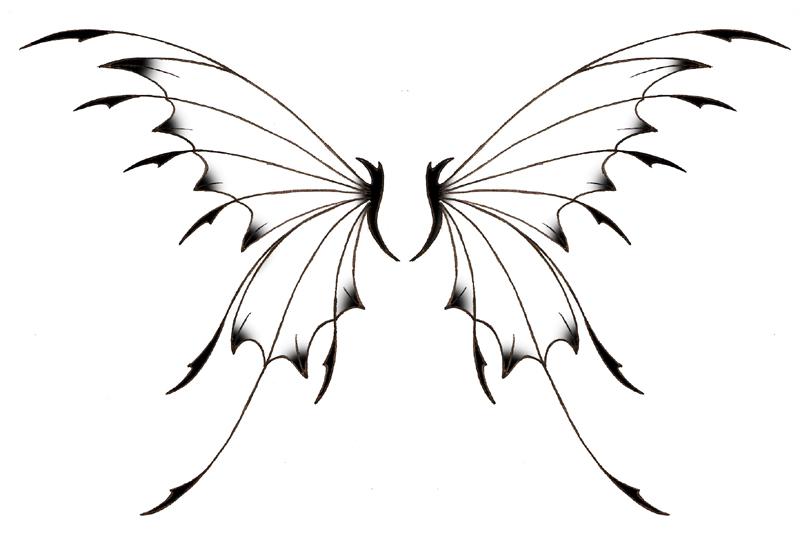 800x539 Fairy Wings Tattoos Ideas