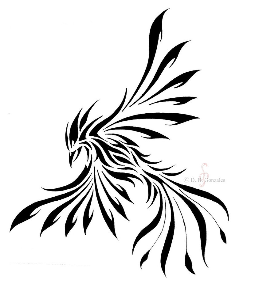 830x963 Black Outline Fairy Wings Tattoo Stencil By Bakero Ichiban