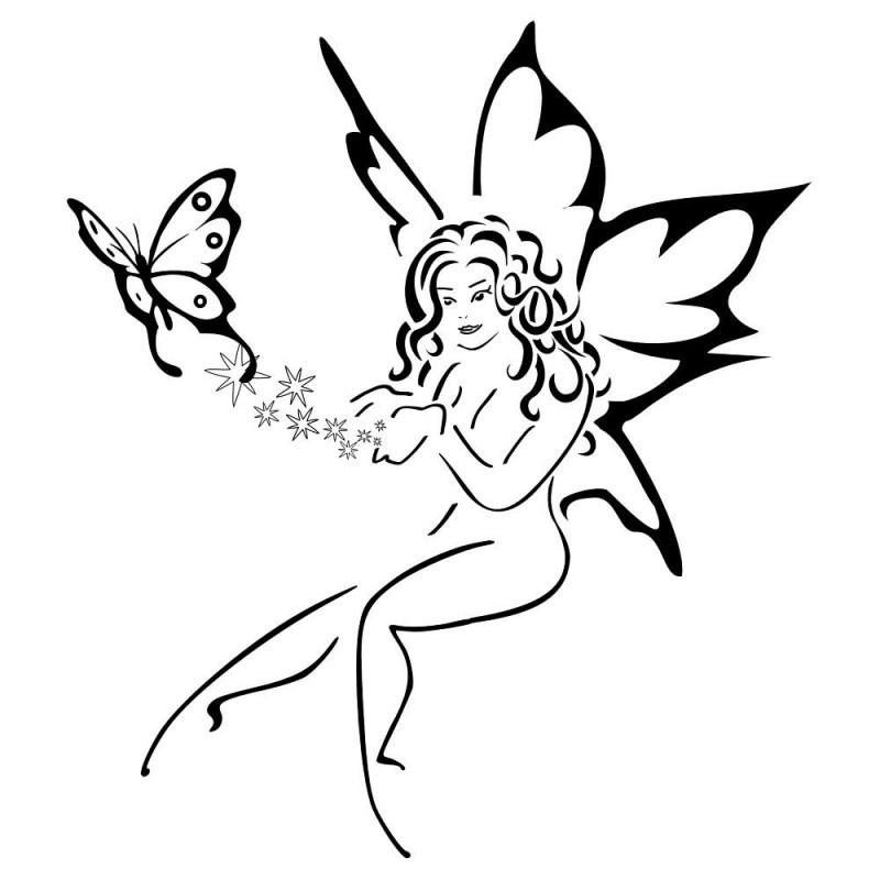 800x800 Fairy Tattoo Designs
