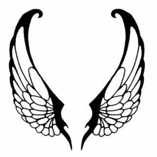 320x320 30 Best White Wings Tattoo Designs Images Angel