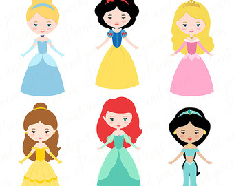 340x270 Fairy Tale Princess, Princess Digital Clipart, Little Princess