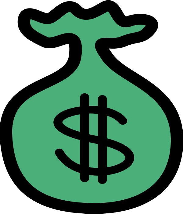 600x704 Clipart Money Sign 101 Clip Art