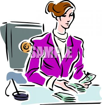 341x350 Counting Money Clipart 101 Clip Art